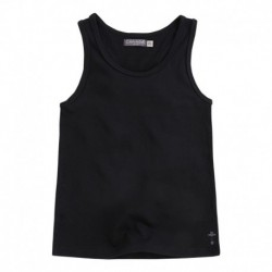 SLEEVELESS T-SHIRT BASQUET GIRL BLACK