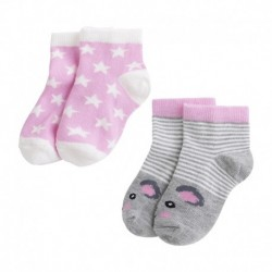 Pack de calcetines bebé niña BBSOCK