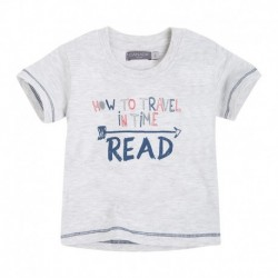 Camiseta Bebé Niño Manifiesto gris