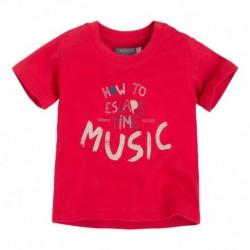 Camiseta Bebé Niño Manifiesto roja