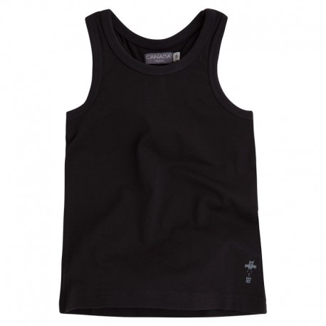 Camiseta Niña Basquet negra