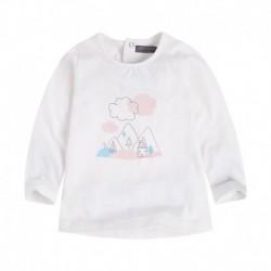 camiseta bebé niña BBNUBE
