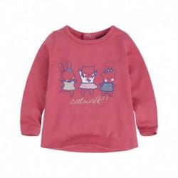 camiseta bebé niña BBCATWALK
