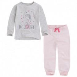 pijama niña choco