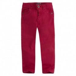 pantalón niño DIAGONAL rojo