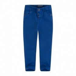 pantalón niño diagonal azul