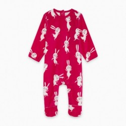 Pijama terciopelo BBWHITERABBIT