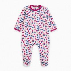 Pijama terciopelo BBCOLORDOTS