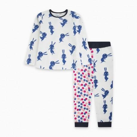 Pijama terciopelo BLUERABBIT
