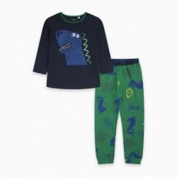 Pijama terciopelo CASTLE