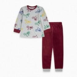 Pijama terciopelo BIKE