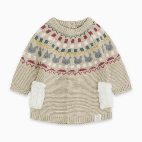 Vestido tricot MINIGREK