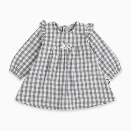 Vestido plana MINICHECK