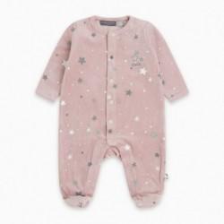 Pijama terciopelo MINISTARPINK