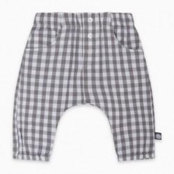 Pantalón plana MINICHECK