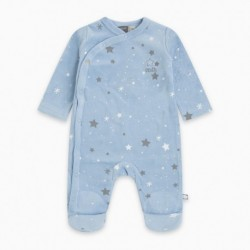 Pijama terciopelo MINIBLUESTAR