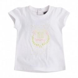 Camiseta Bebé Niña Hello