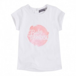 Camiseta Bebé Niña Paradise