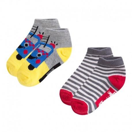 Pack Calcetines Bebé Niño gris