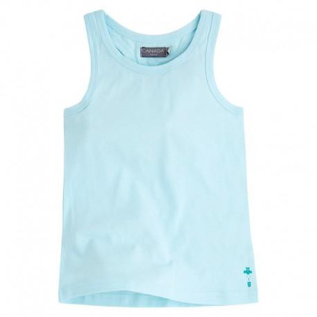 Camiseta Niña Basquet azul