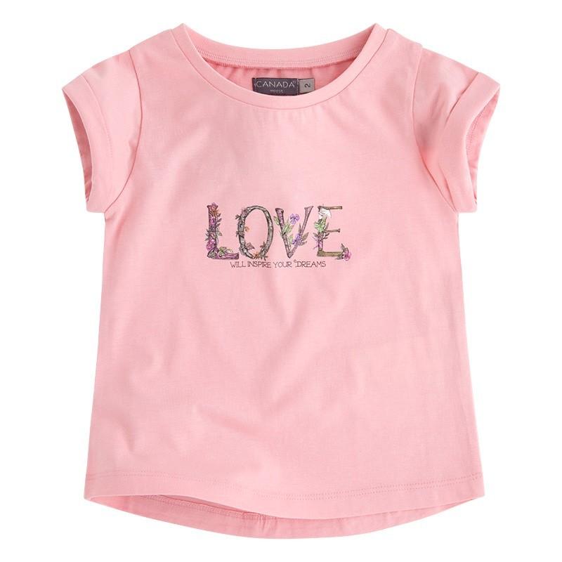 b2d12416c1 Camiseta Niña Love - Canada House
