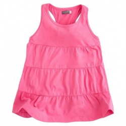 Vestido Niña Frill rosa
