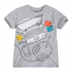Camiseta Niño Laptop