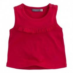 Camiseta  bebé niña BBFluor naranja