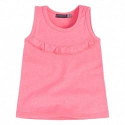 Camiseta bebé niña BBFluor rosa