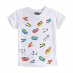 Camiseta niño Frisbee