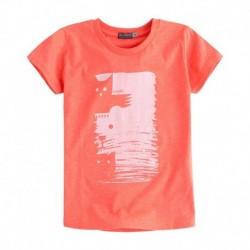 Camiseta niño Totem naranja