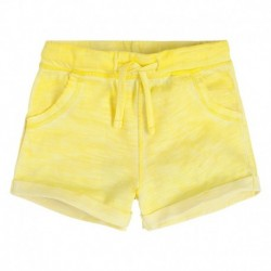 Shorts niña Biarritz amarillo