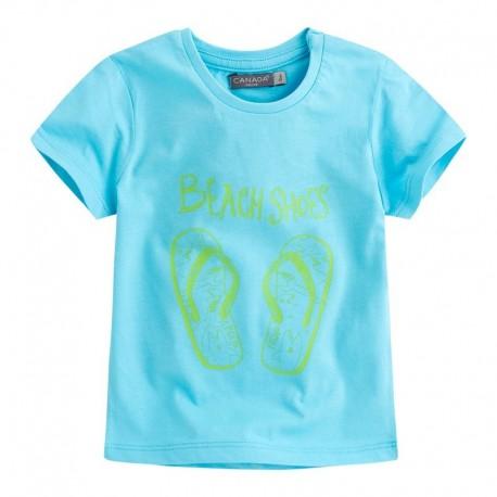 Camiseta  bebé niño BBFlipflop Azul